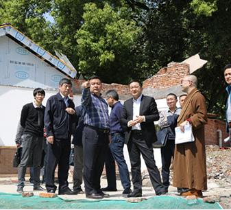 宜昌市政府副市长卢军到古佛寺调研
